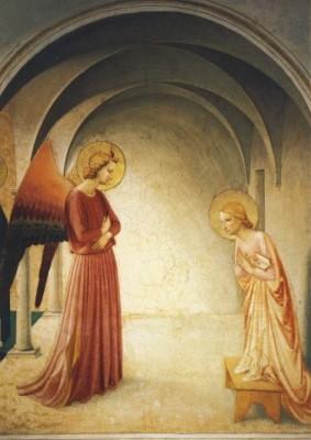Angelico. Verkündung an Maria, um 1437/45. KK