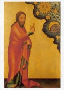Bertram, Meister. Die Erschaffung der Gestirne, um 1380. KK