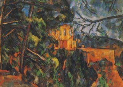 Cézanne, P. Die schwarze Burg, 1904/06. KK
