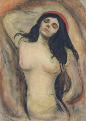 Edward Munch. Madonna (liebende Frau) 1894. KK