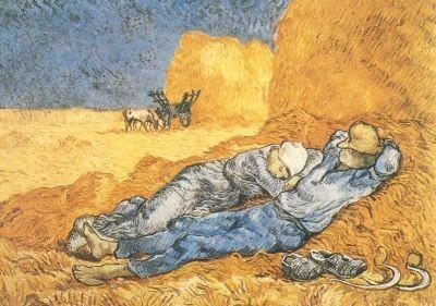 Abends: Ruhep. n. d. Arbeit, Gogh