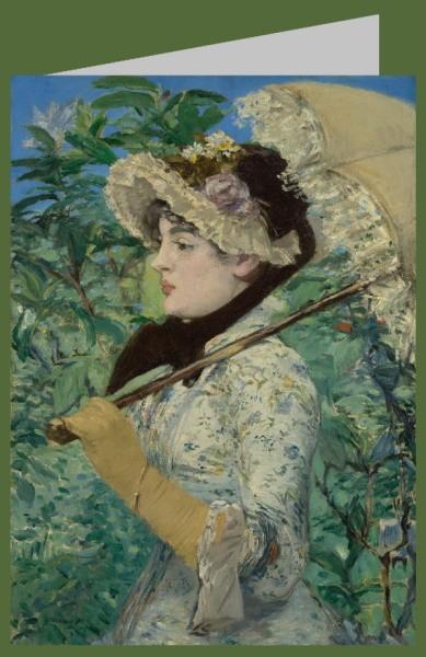 Èdouard Manet. Jeanne (Frühling), 1881