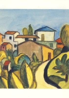 Hermann Hesse. Weg ins Dorf, 1926