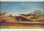 Cézanne, P. Der Bahndurchstich, um 1870. KK