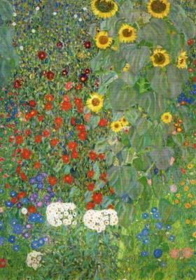 Gustav Klimt. Bauerngarten mit Sonnenblumen, 1905/06