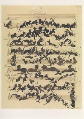 Moritz Schwind. Katzensymphonie, 1868. KK