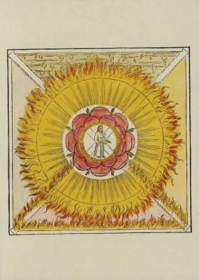Rosenkreuzer-Motive, A6-15 Kunstkarten