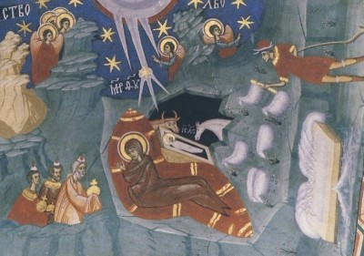 Rumänisch-Byzantinisch, Geburt Christi. KK