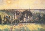 Camille Pissarro. Landsch. in Eragny, 1895