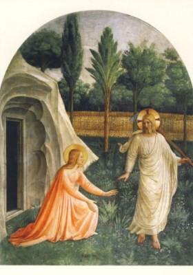 Angelico, Beato. Noli me tangere, 1439/45