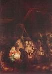 Rembrandt. Anbetung der Hirten. KK