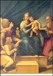 Raffael. Madonna del Pesce. KK