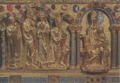 Anbetung der Könige,nach 1204. KK
