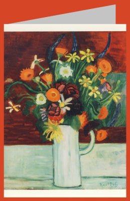 Raoul Dufy. Blumenstrauss in einer Vase, 1907