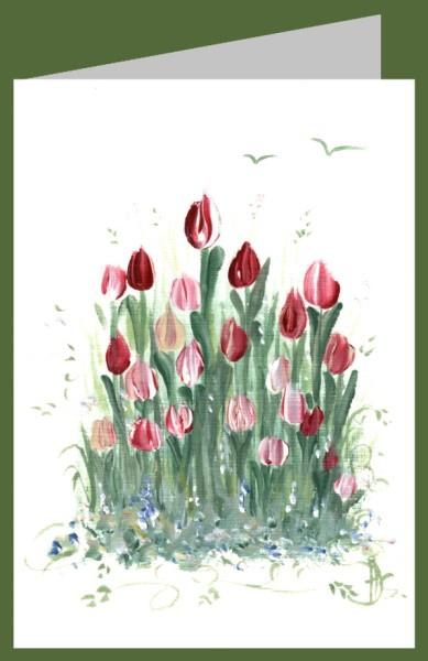 Hildegard Johanna Seeger. Tulpen, 2019