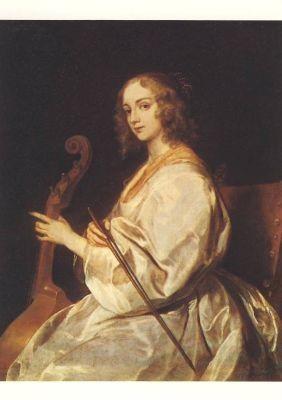 Anthonis van Dyck. Die Gambenspielerin