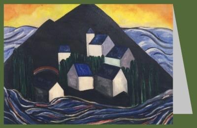 Heemskerck, Jacoba. Insel, Komposition 21, 1914