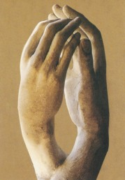Auguste Rodin. Die Kathedrale, 1908. KK