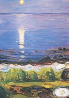 Edvard Munch. Sommernacht am Strand, 1902/03
