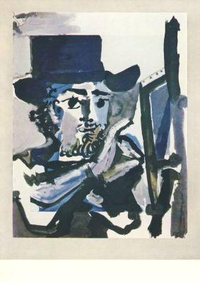 Pablo Picasso. Der Maler bei der Arbeit, 1964