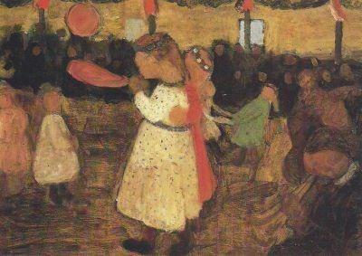 Paula Modersohn-Becker. Ländliches Fest, 1904