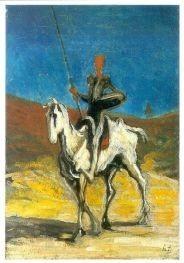 Daumier, Honore. Don Quixote, um 1868. KK