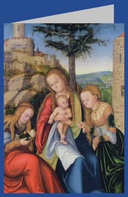 Lucas Cranach d.Ä. Madonna und Kind + Heiligen Katharina