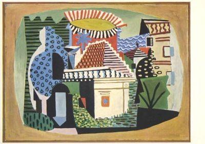Picasso, P. Landschaft. KK