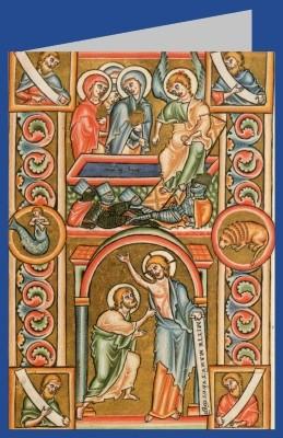 Ostern. Evangelistar 1194. DK