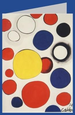 Alexander Calder. Gouache, 1973/74