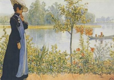 Larsson, C. Nachsommer. KK