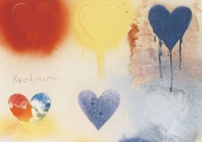 Jim Dine. mall Heart Painting No. 12, 1970. KK