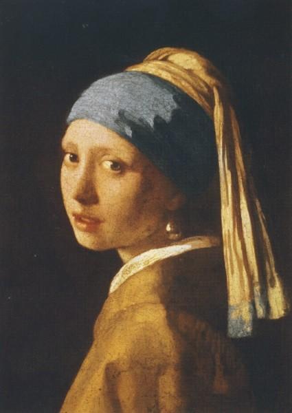 Jan Vermeer van Delft. Mädchen mit Perlenohrring.