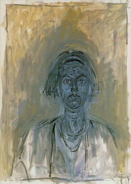 Giacometti, Alberto. Bildnis von Annette, 1964. KK