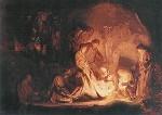 Rembrandt. Grablegung Christi. KK