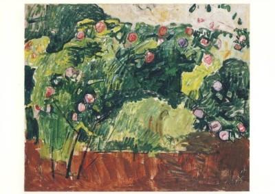 Hodler, Ferdinand. Der Rosenstrauch, um 1916