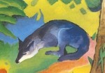 Der blaue Fuchs, Marc
