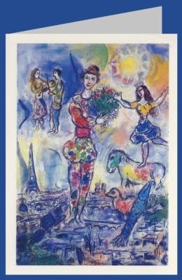 Marc Chagall. Über den Dächern von Paris, 1970