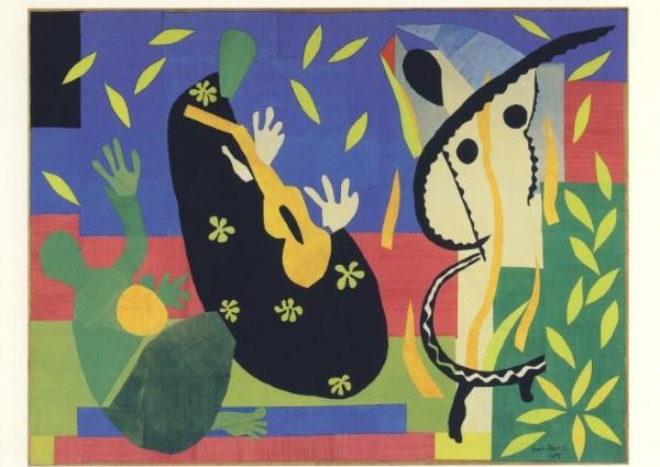 Henri Matisse. Die Trauer des Königs, 1952. KK