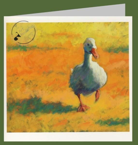 Onnes, T. Weiße Ente, 2008. 15x15-DK