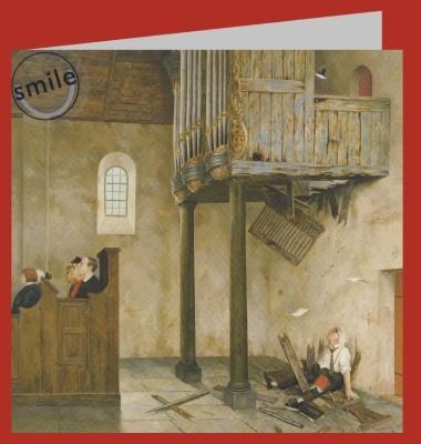 Marius van Dokkum. A capella, 1998. 15x15cm