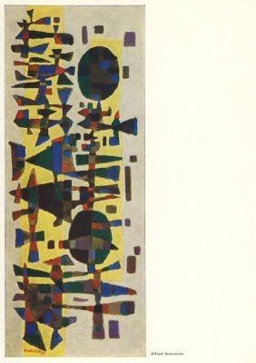 Manessier, A. Fest in Zeeland, 1955