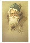 Weihnachtsmann. Altes Motiv um 1900. KK