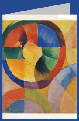 Robert Delaunay. Formes Ciculaires, Soleil, No. 1, 1912/13