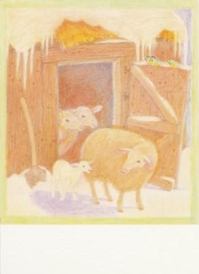 Mancke, I. Schafe und Lämmchen. KK
