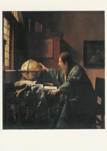 Jan Vermeer van Delft. Der Astronom, 1668. KK