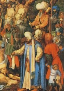 Albrecht Dürer. Marter der zehntausend Christen, 1508