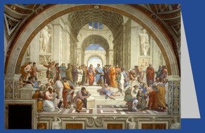 Raffael. Die Schule von Athen, 1509 - 1511