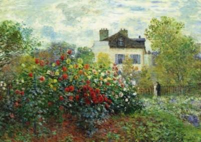 Claude Monet. Der Garten des Künstlers in Argenteuil, 1873