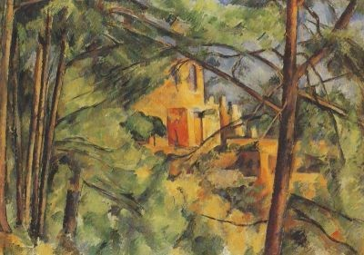 Cézanne, P. Chateau Noir, Das schwarze Schloß, um 1894/95